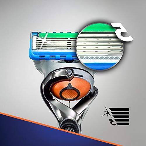 Gillette Proglide Razor Handle 4 Blade Refills