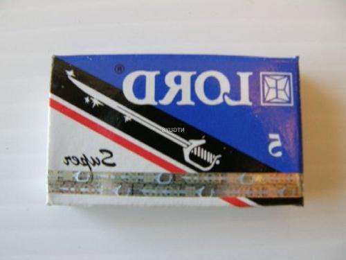 Lord Super Stainless Double Edge Razor Blades