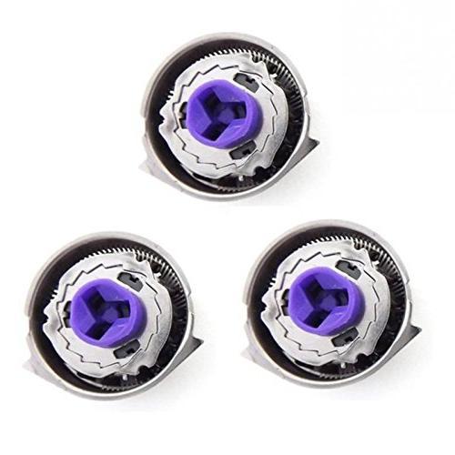 Set 3 New Replacement Electric Head Razor Blades PT724 PT730 AT810 AT830 HQ6090 7800XL HQ9160 Aquatec, Dual Razors