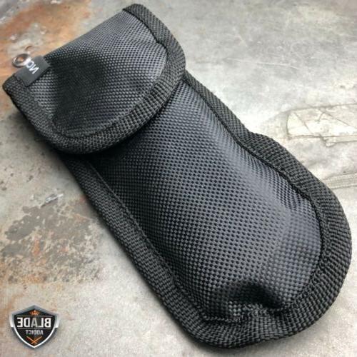 TACTICAL Pocket Knife CLEAVER RAZOR FOLDING