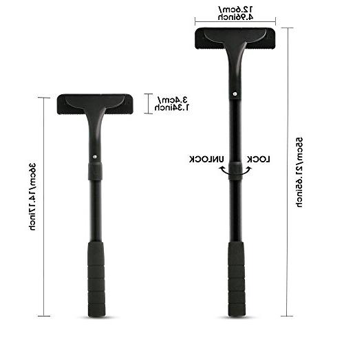 Vansky Back Removal Shaver Body Groomer Stainless Edge Extreme Reach Safety Body Pain-Free or Dry Use