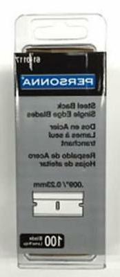 American Safety Razor ASR-61-0117 Single Edge Razor Blades 1