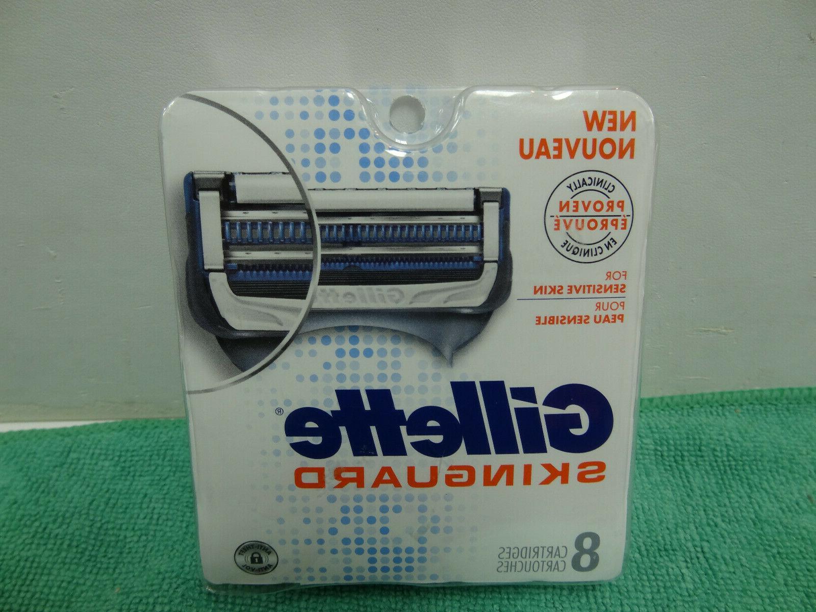 brand new skinguard refill razor blades 8
