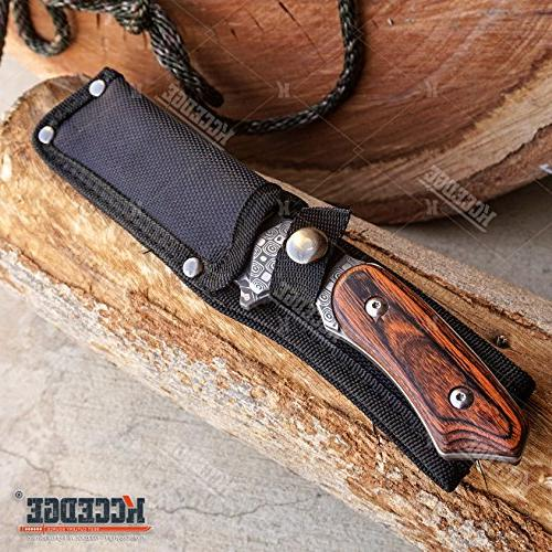 WarTech KNIVES COMBO SET BLADE CLEAVER ASSISTED KNIFE BLADE HUNTING CAMPING