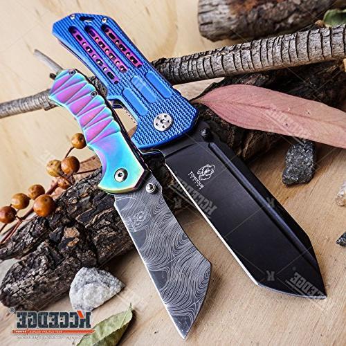 buckshot knives edc camping assisted