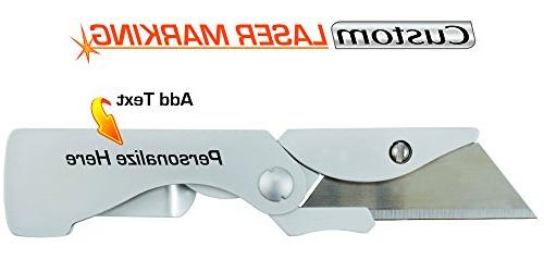 custom laser engraved eab pocket