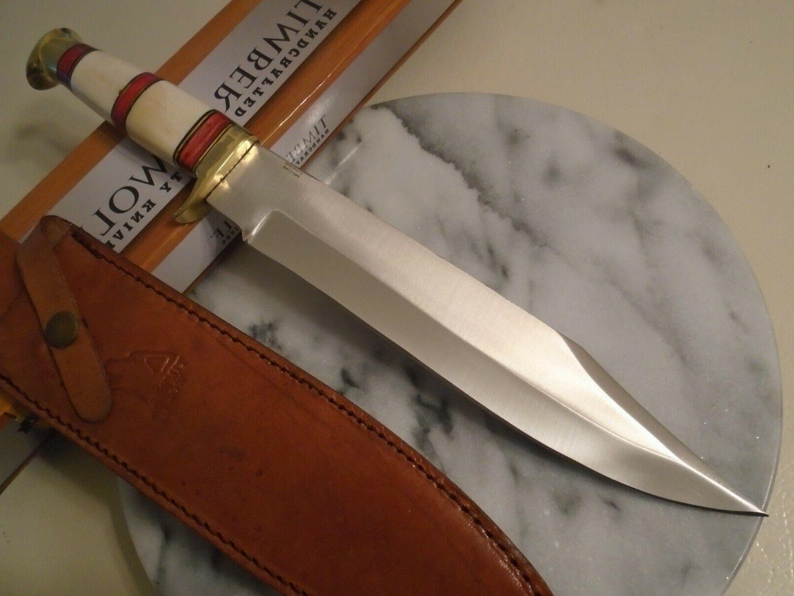 Timber Bone Bowie Full Tang 15 1/4""