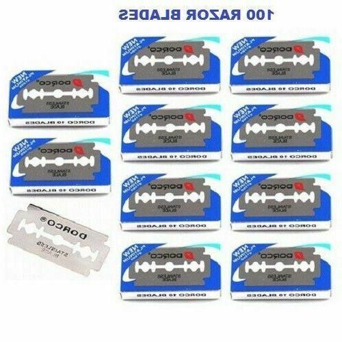 1000 Dorco Edge Razor Blades Platinum Plus - Priority Shipping