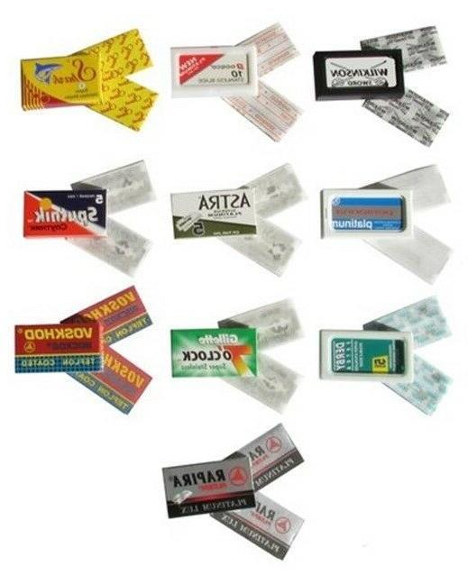 double edge razor blade sample pack
