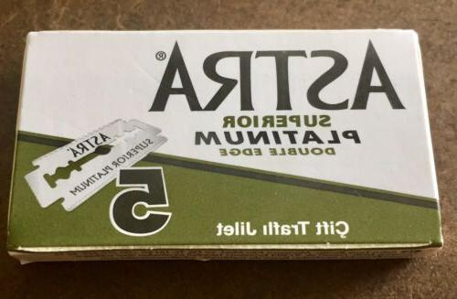 Double Edge Razor Russian ASTRA Combo. And Each