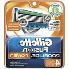 Gillette Fusion 5 ProGlide Men's Razor 5 Blades Refills 4 Ca