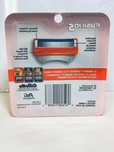 GILLETTE SHAVER BLADES 8 CARTRIDGES PACK REFILL