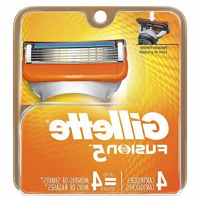 fusion blades cartridges