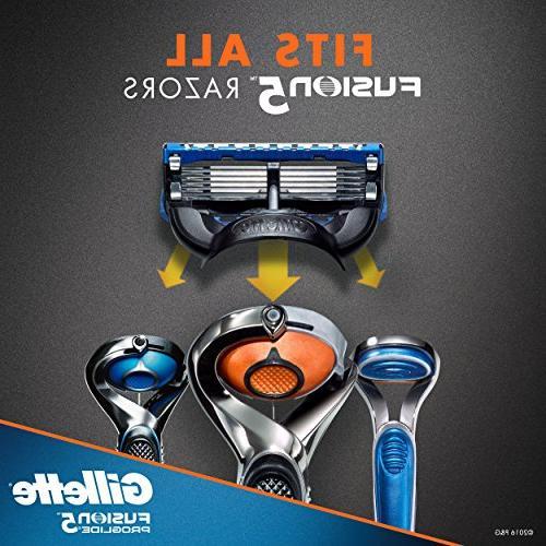 Gillette Fusion5 ProGlide Razor Blade 12 Count, Fusion Razors/Blades
