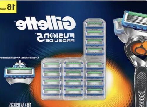 Gillette Fusion Proglide Razor Blades - 16 Cartridges ***FRE