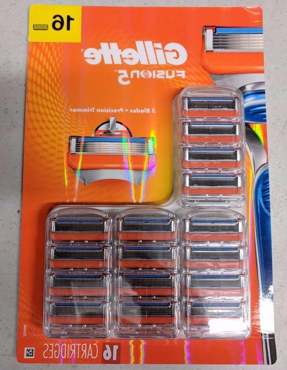 fusion5 cartridges formerly fusion razor blades 16