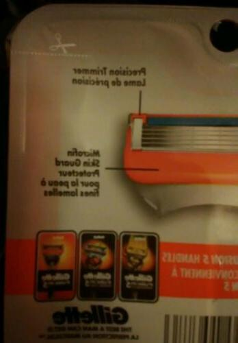 Gillette Razor Blades - ONE with 4 in it.NEW