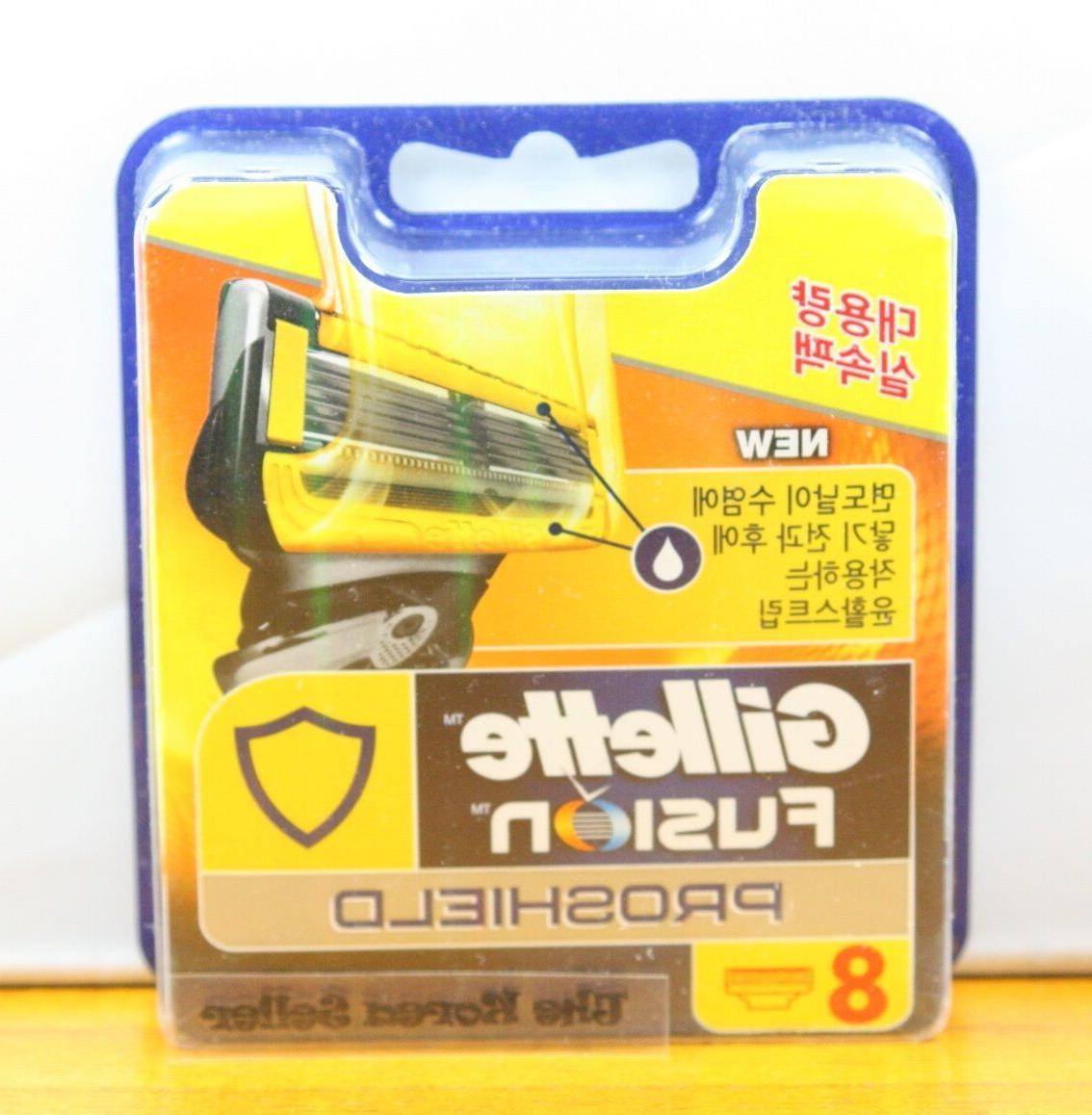 Genuine Gillette Fusion Flexball Proshield Yellow Original R