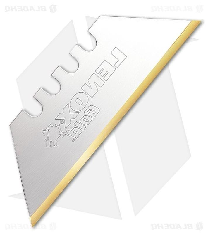 gold 20350 gold5c titanium edge utility knife