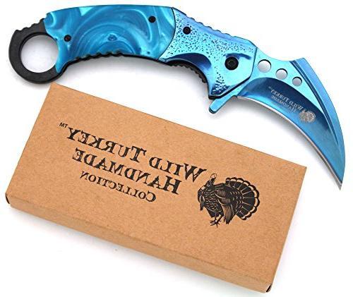 Wild Duty Hawk Karambit Hunting Lightning - Razor Blade