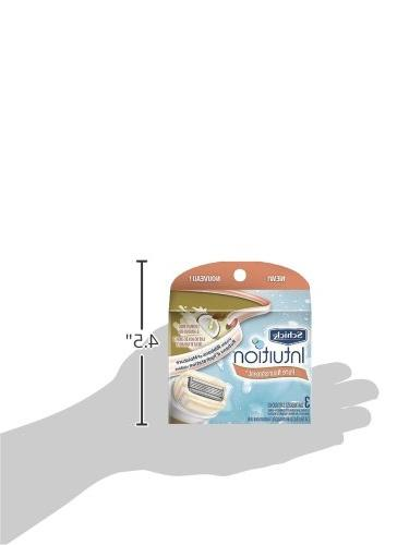 Schick Pure Moisturizing Blade for with Coconut Milk and Almond - 3
