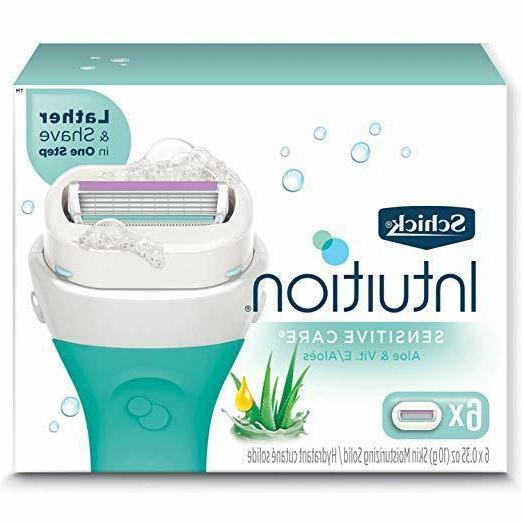 intuition sensitive care moisturizing razor