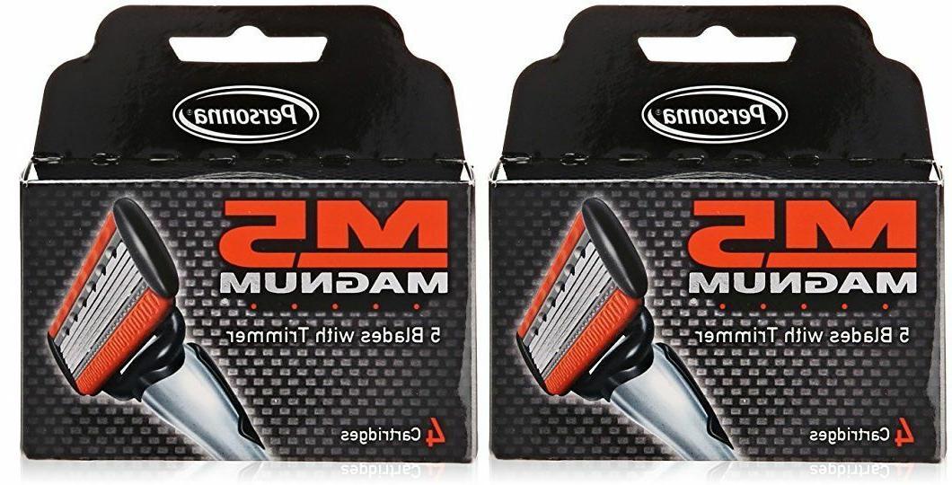 m5 magnum razor blades