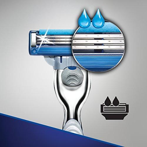 Gillette Mach3 Razor + 4 Blade