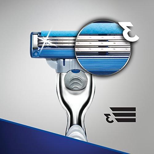 Gillette Mach3 Turbo Men's Razor Handle Blade
