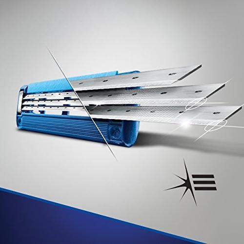 Gillette Mach3 Turbo Men's Razor Handle 4 Blade Refills