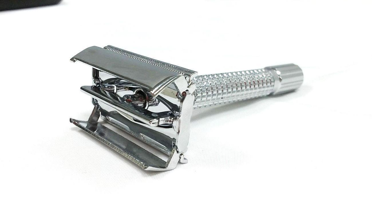 Men's Classic Double Edge Chrome Shaving Safety Razor