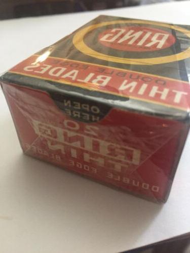 N O vintage razor blades, Collectible. Box Never