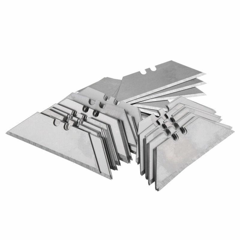 New 100Pcs Razor Blades Sharp with Storage