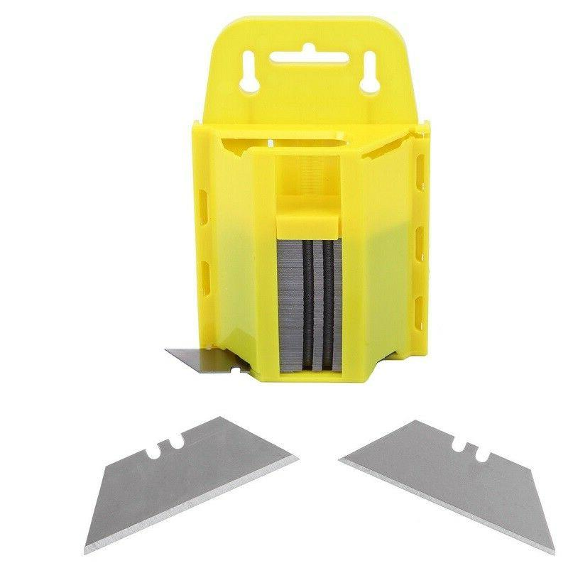 new 100pcs safety knife razor blades double