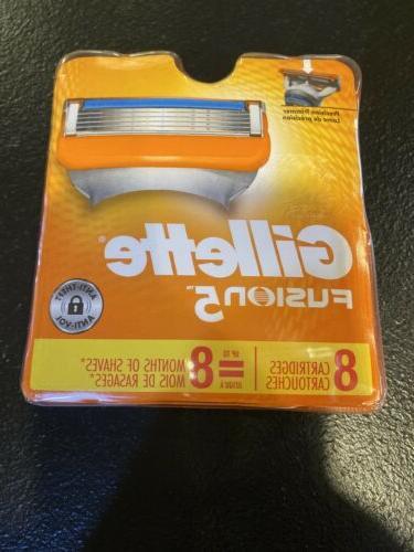 new fusion5 razor blades for men 8