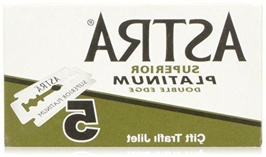 Astra Superior Edge Shaving Razor 100 pcs