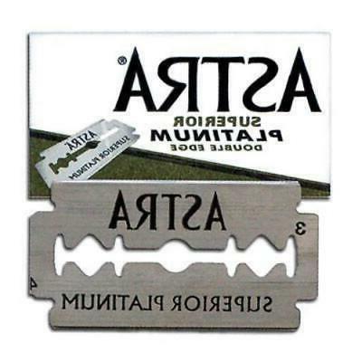 platinum double edge safety razor blades