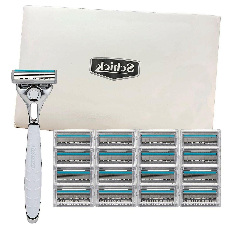 quattro titanium for men with 1 razor