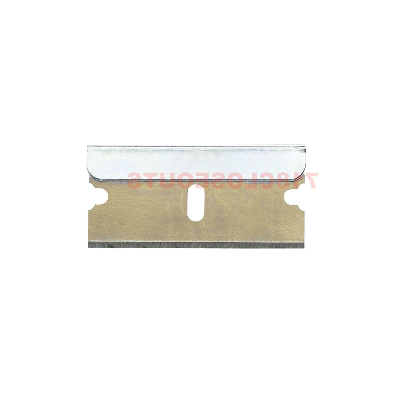 100pc Blades Single Edge Extra Treated Safety