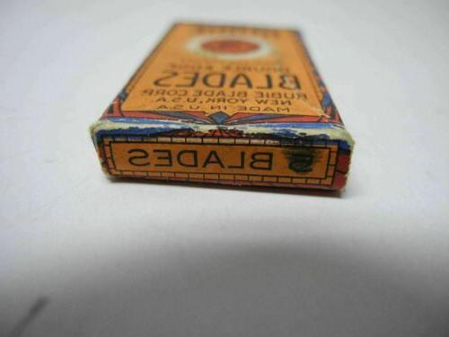 Rubie Double Edge Blades in Box Made in USA
