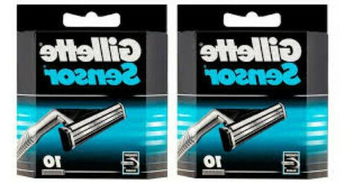 sensor razor blade refills 20 cartridges