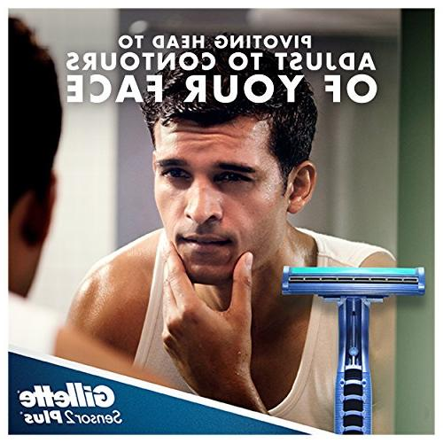 Gillette Sensor2 Plus count Razor