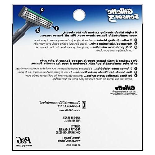 Gillette Sensor3 Men's Blade 8 Mens Razors/Blades