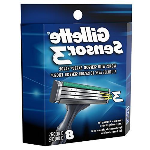 Gillette Sensor3 Men's Blade Count, Mens