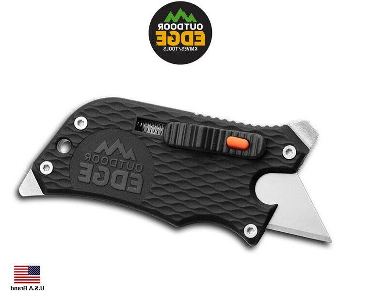Outdoor Slidewinder Utility Knife, Box Cutter, Bottle Opener,