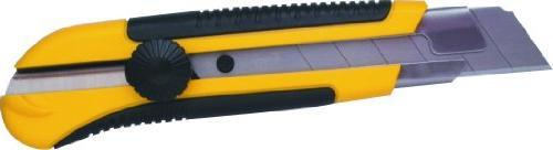 Stanley Hand Tools 10-425 25mm Snap-Off Knife With Dynagrip