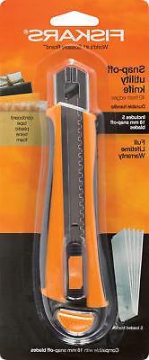 Fiskars 144720-1001 18mm Snapp-Off Utility Knife