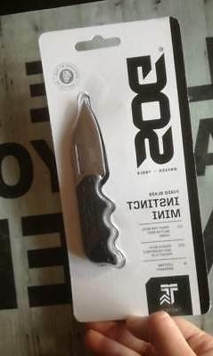 SOG INSTINCT MINI SHARP FIXED BLADE NECK BELT BOOT CARRY KNI
