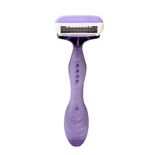 Shavers; Purple Disposable Razors Feature with Oil and Design for Ultra Flexes to Adjust