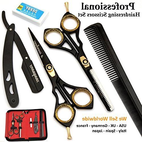 sqkit hairdressing scissors set